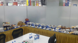 VIP Buffet Set Up for Corporates